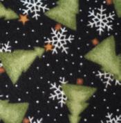 Trees & Snowflake Flannel