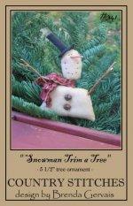 Snowman Trim a Tree