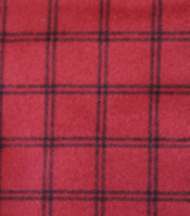 Red/Black Window Pane Flannel