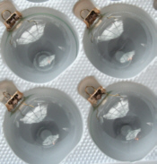 Clear Glass Tree Bulbs