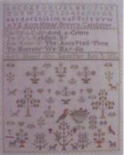 Antique Spring Sampler