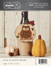 Hootie on Pumpkin Ornament