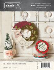 St Nick Wreath Ornament