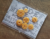 Beeswax Buttons - set #1