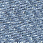 Blue Geo Stripe Reproduction Fabric