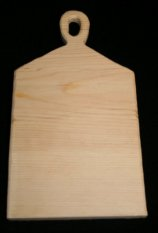 Pumpkin Hollow Wooden Paddle