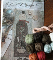 Brr! Pattern & Floss Kit