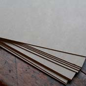 Medium Weight Chipboard Cardboard Sheets