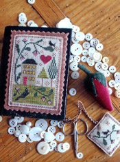 Berry House Stitch Book