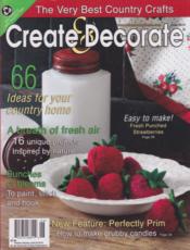 June 2010 Create & Decorate Magazine