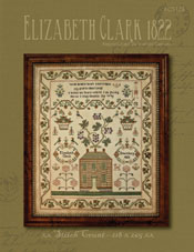 Elizabeth Clark, 1822 - an antique reproduction