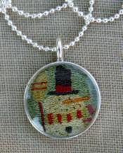 Frosty Guy Necklace