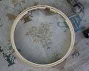 One Touch Wooden Emboidery Hoop
