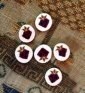 Sampler Strawberry Buttons