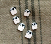 Small Sheep Button