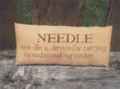 Needle Pillow