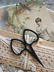 Little Love Scissors - Primitive Black