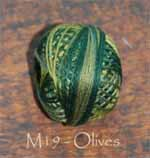 Olives 3 Strand Valdani Floss