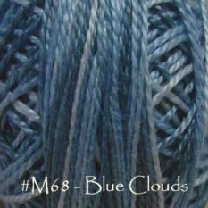Blue Clouds Pearl Cotton