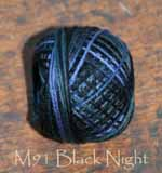 Black Night 3 Strand Floss