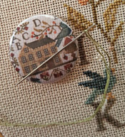 Summer Schoolhouse Needle Nanny