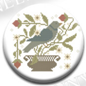 Bluebird & Berries Needle Nanny