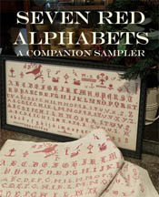 Seven Red Alphabets