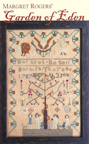 Margret Rogers' Garden of Eden Sampler