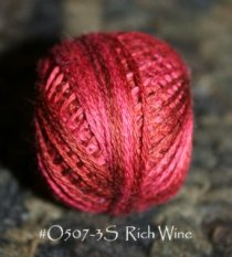Rich Wine 3 Strand Floss