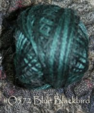 Blue Blackbird 3 Strand Floss