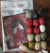 One Starry Christmas Eve Pattern & Floss Kit