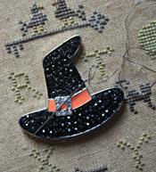 Witches Hat Needle Keeper - Orange