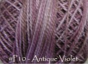 Antique Violet Pearl Cotton