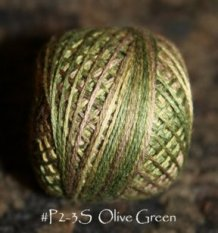 Olive Green 3 Strand Floss