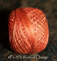 P6 Rusted Orange 3 Strand Floss