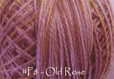 Old Rose Pearl Cotton