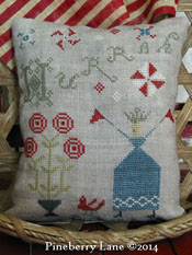 Hurrah Sampler Pillow