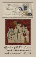 Olde Time Snowmen