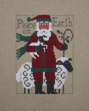 2019 Santa - Peace on Earth