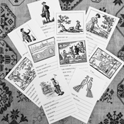 Needlework Labels - Set of 10 asst.