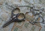 Heirloom Scissor Pendant
