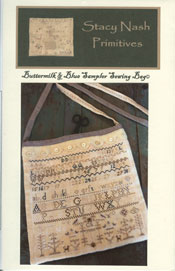 Buttermilk & Blue Sampler Sewing Bag