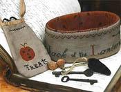 Jack of the Lantern Sewing Basket & Treat Bag