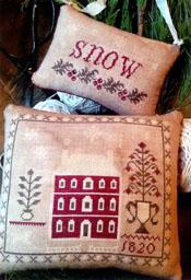 Snowed In Pinkeep & Ornament