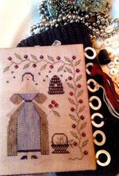 Winter Beekeeper Thread Board