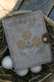 Yellow Daisy Sewing Book