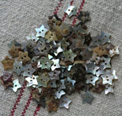 "1/2"" Star Mother of Pearl Buttons"