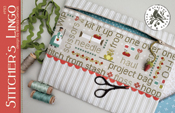 Stitcher's Lingo Word Play Project Bag