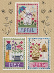 Monthly Trios April, May, June