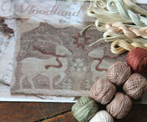 Woodland Yuletide & Floss Kit